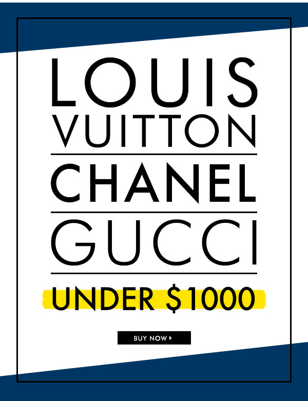 LOUIS VUITTON CHANEL GUCCI UNDER $1000 OFF BUY NOW | Shop Selection 1 Accessories, Handbags and Purses